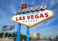 Entrance sign Las Vegas